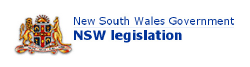 NSW Government Legislation