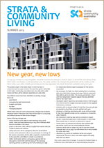 Strata Management News | 2013 Summer